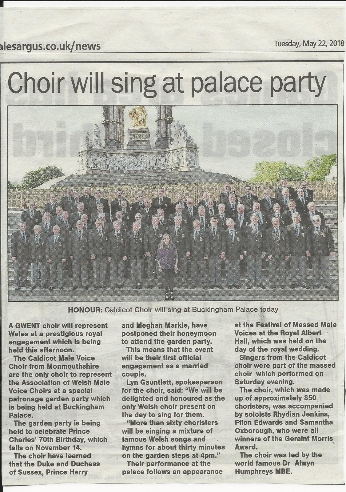 News – Page 5 – Caldicot Male Voice Choir